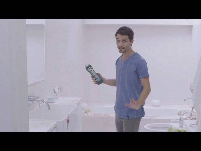 Publicidad CIF Crema Ultra Higiene – Combinacion brillante – Magia en el baño