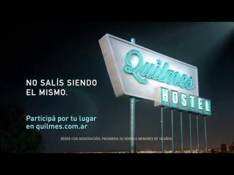 Publicidad QUILMES Hostel Verano 2015 – SIN CANCION