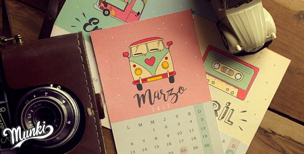 diseño calendario