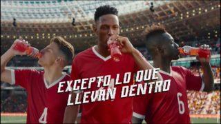 Comercial GATORADE Colombia Copa Mundial 2018 – Todo cambia excepto lo que llevan dentro
