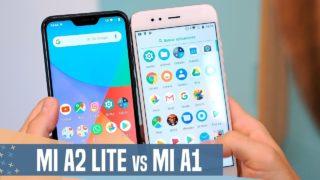 Xiaomi Mi A2 Lite vs Mi A1, ¿Cuál elegir por MENOS de 200€?